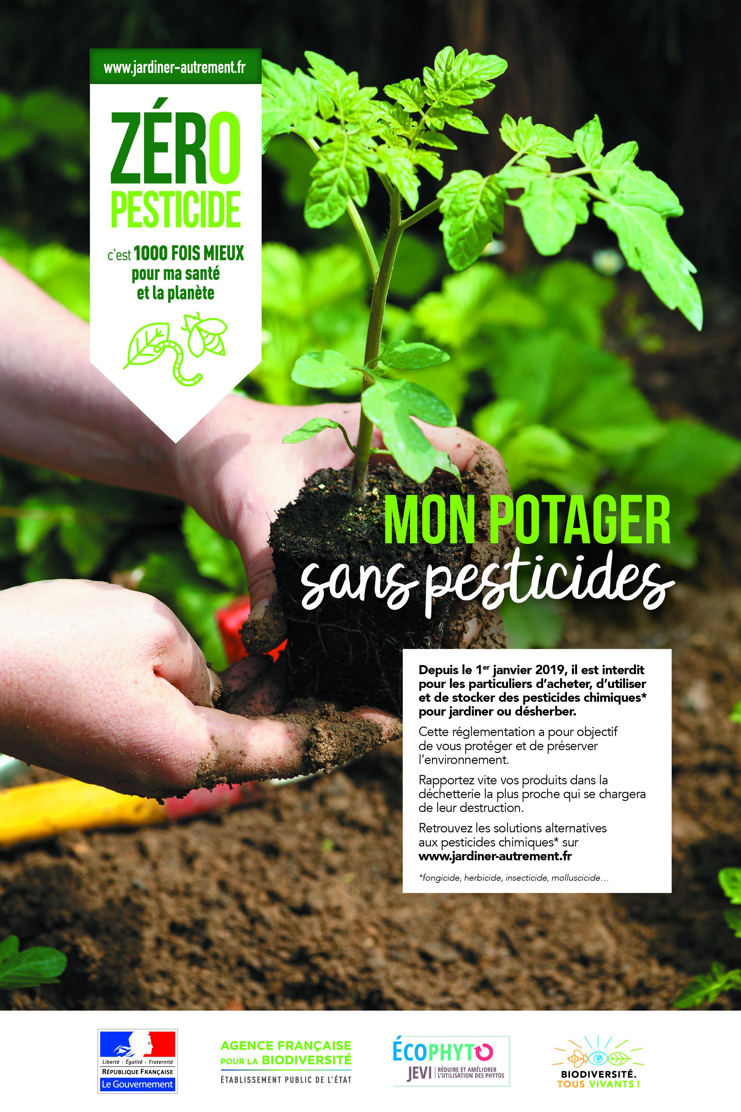 Le Jardin Potager En Janvier jardin et pesticides - site officiel de la ville de trébeurden