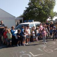 Intervention du policier municipal et de l'ASVP
